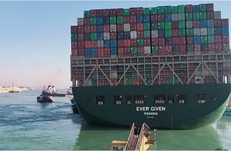 """محكمة مصرية ترفض رفع التحفظ على السفينة """"إيفرجيفن"""""""