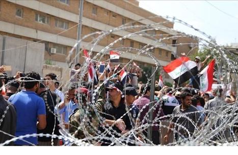 تواصل الاحتجاجات في بابل بالعراق ومطالبات بإقالة المحافظ
