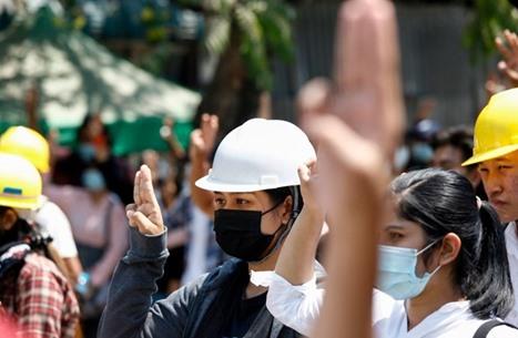 قتلى في تظاهرات ميانمار والمصارف والشركات تغلق أبوابها