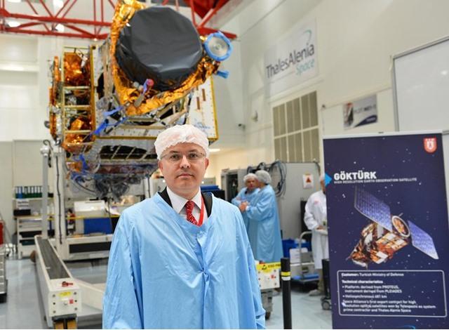 القمر الصناعي التركي كوكتورك-1 - 03- القمر الصناعي التركي كوكتورك-1 - الاناضول