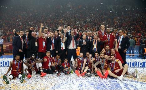 غلطة سراي التركي بطل كأس أوروبا بالسلة - 01- غلطة سراي التركي بطل كأس أوروبا بالسلة - الاناضول