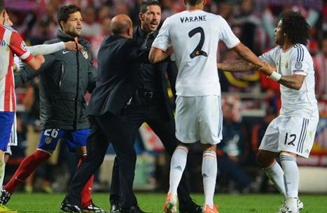 سيميوني يقصف ريال مدريد بعد قرعة دوري الأبطال.. ماذا قال؟
