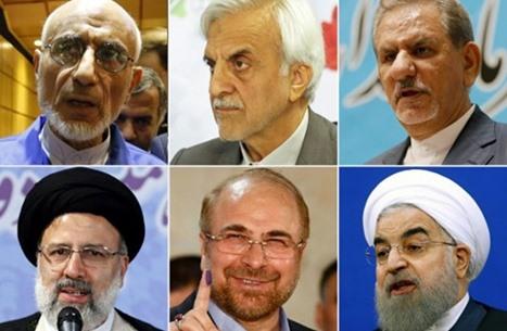 هؤلاء هم المرشحون الستة لكرسي الرئاسة بإيران