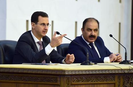"""الأسد: سوريا تواجه إرهابا """"وهابيا إخونجيا"""".. هذا هدفه"""