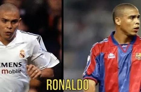 تعرف على أبرز 10 نجوم لعبوا مع ريال مدريد وبرشلونة