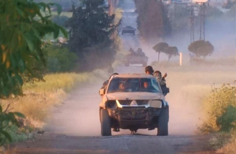 """المعارضة تتقدم شمالي حماة وتستعيد """"المصاصنة"""" (شاهد)"""