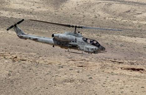 تحطم مروحية عسكرية أردنية ونجاة طاقمها