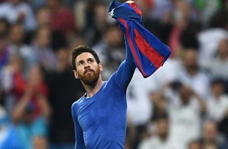 ميسي طلب تبادل القميص مرة واحدة بمسيرته.. مع مدريدي
