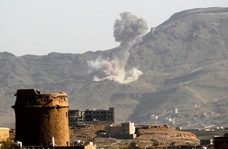 التحالف يعلن شن هجمات جوية ضد أهداف للحوثي في صنعاء