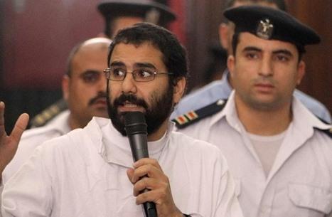 شقيقة علاء عبد الفتاح تكشف أوضاع سجنه المأسوية