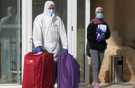 الأردن يغلق مركزا حدوديا مع سوريا لأسبوع بسبب كورونا