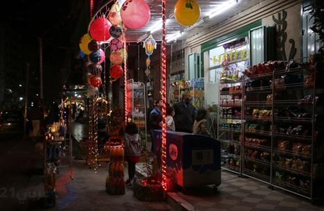 غزة تستقبل رمضان - استقبال رمضان بغزة (14)