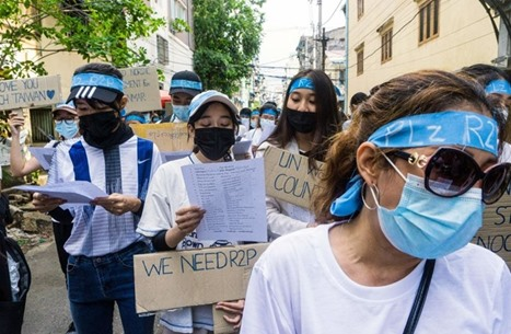 عسكر ميانمار يرفضون حكومة المعارضة واحتجاجات مستمرة