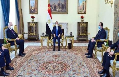 "حراك مصري أردني يدفع لاستئناف ""مفاوضات السلام"""