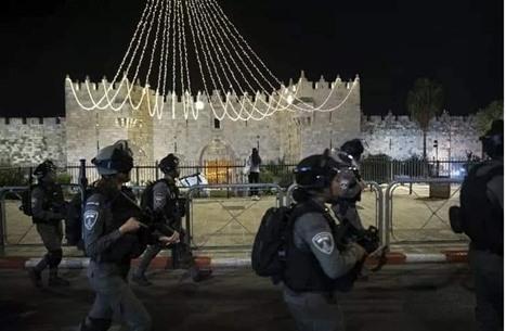 عشرات الإصابات بمواجهات مع الاحتلال في القدس (شاهد)