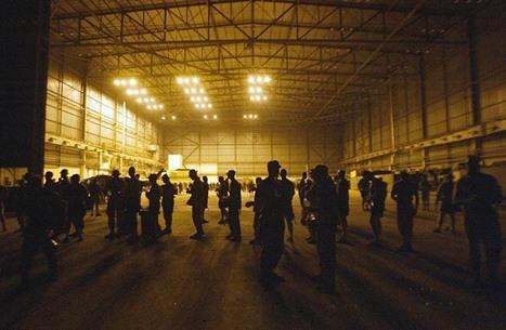 هجوم صاروخي ضد قوات أمريكية في مطار بغداد الدولي (شاهد)