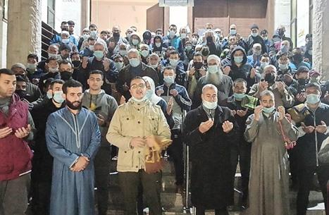 غزة تتضامن مع أهل القدس ضد اعتداءات الاحتلال (شاهد)