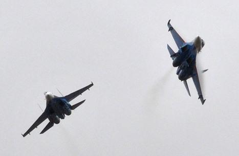 روسيا تعترض طائرة أمريكية في أجواء سوريا