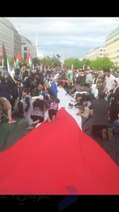 أطول علم فلسطيني في برلين لإحياء ذكرى النكبة - عربي21 - (10)