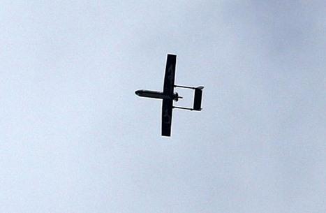 جيش الاحتلال يعلن إسقاط طائرة مسيرة بالأغوار (صورة)