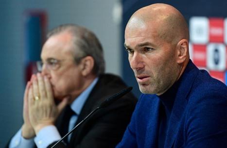ما مستقبل المدرب زيدان مع ريال مدريد؟