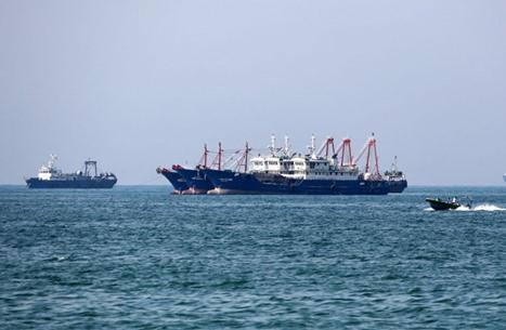 سفن إيران الحربية تغير اتجاهها نحو الساحل الغربي لأفريقيا