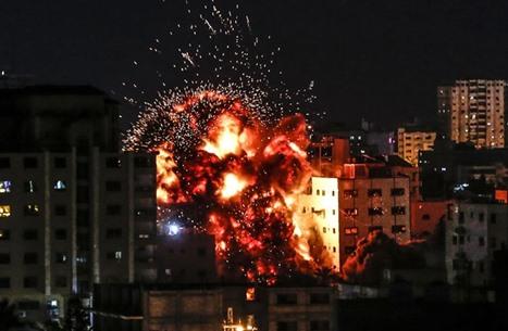 قصف إسرائيلي يستهدف مواقع عدة جنوب قطاع غزة