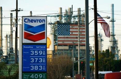 شيفرون الأمريكية تعول على ثروات الغاز بالشرق الأوسط