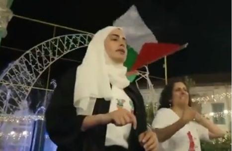 الفتاة المقدسية الكرد: مقاومة الفلسطينيين واحدة بكل مكان (فيديو)