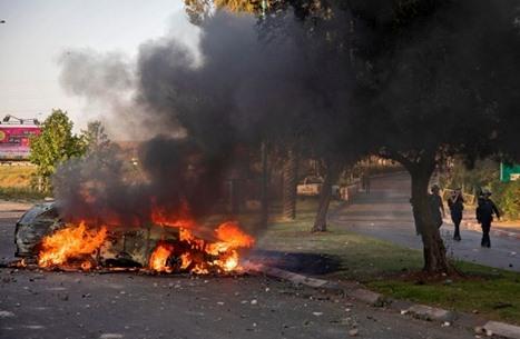 اشتباكات مسلحة باللد لصد هجمات المستوطنين (شاهد)