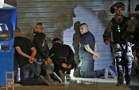 """اعتقالات الداخل تناهز الألف.. وحشد لإضراب """"من البحر للنهر"""""""