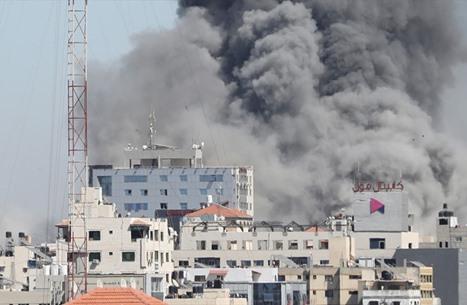 تحقيق يكشف نوعية القنابل التي دمرت أبراج غزة (صور)