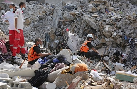 34 ألف نازح بغزة وأزمة في الكهرباء جراء العدوان