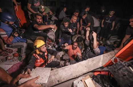 مجزرة في غزة.. 13 شهيدا من عائلة واحدة والحصيلة ترتفع لـ174