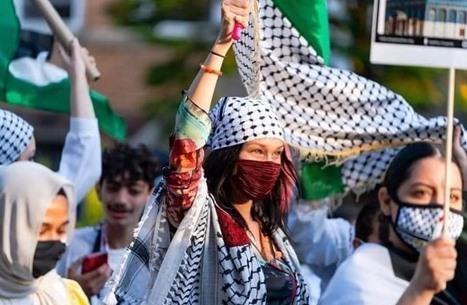 إسرائيل تهاجم عارضة الأزياء بيلا حديد بسبب رفضها للعدوان