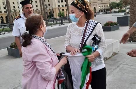 اعتقال مصريين تضامنوا مع فسلطين.. وإخلاء سبيل بعضهم