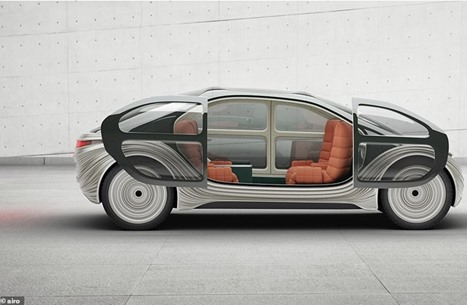 إيرو.. سيارة كهربائية متطورة على الطرقات قريبا (شاهد)