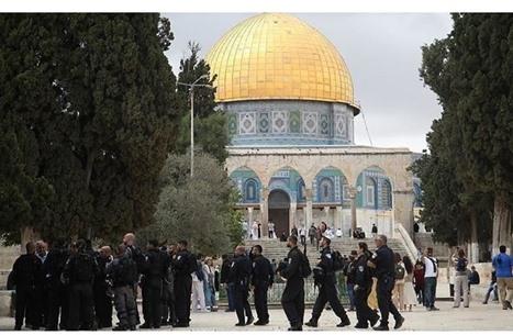 """""""عربي21"""" تبث من المسجد الأقصى بتغطية مباشرة (شاهد)"""