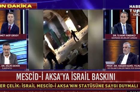 قنوات تركية تفرد تغطية خاصة للتطورات في القدس المحتلة