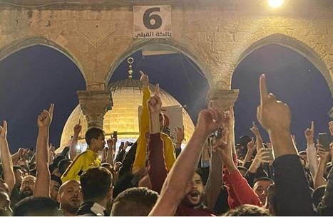 الفلسطينيون ينتصرون بالقدس للمرة الثانية بأسبوعين (شاهد)