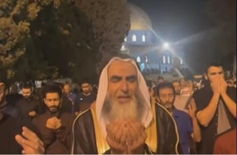 تفاعل مع دعاء القنوت بالمسجد الأقصى ليلة 27 رمضان (شاهد)