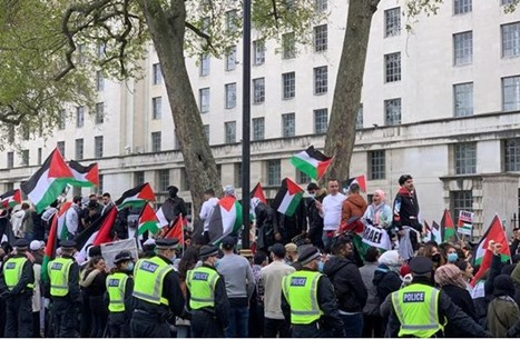 فعاليات متواصلة في دول أوروبا دعما لأهالي القدس (شاهد)