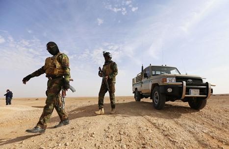 """مقتل ضابط وإصابة جنديين بهجوم لـ""""داعش"""" شرقي العراق"""
