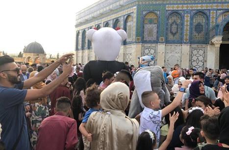 صلاة عيد الفطر في الأقصى 5-6-2019 - أجواء العيد في الأقصى (21)