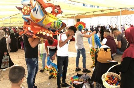صلاة عيد الفطر في الأقصى 5-6-2019 - أجواء العيد في الأقصى (11)
