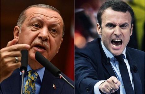 فرنسا تهاجم أردوغان.. لا موعد لعودة السفير لأنقرة