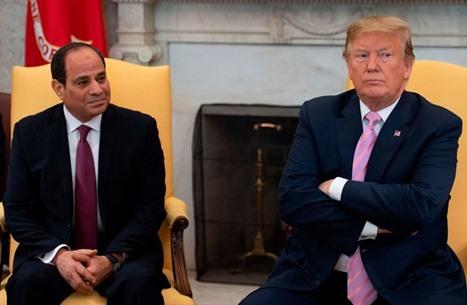 ترامب يهاتف السيسي ويدعو لتعزيز الشراكة بينهما