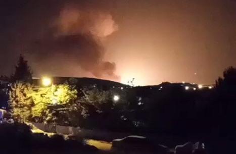 سماع دوي انفجار غرب العاصمة طهران