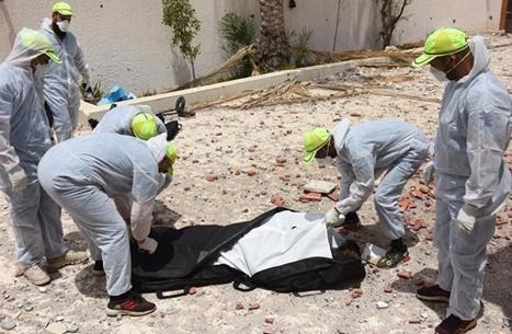 انتشال 6 جثث جديدة من مقبرة جماعية بترهونة جنوبي طرابلس