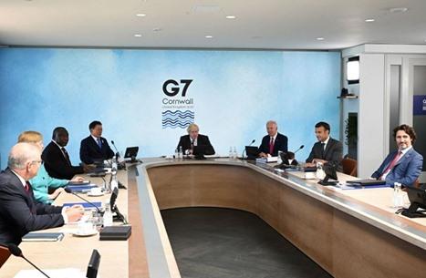 """""""مجموعة السبع"""" تتفق على التصدي بحزم لسياسات الصين"""